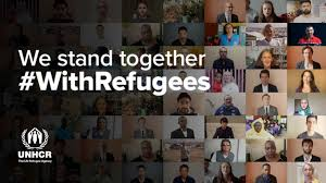 #WithRefugees.